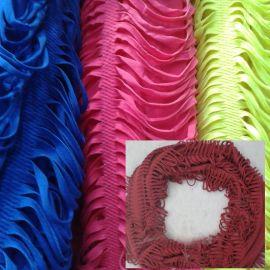现货批发 时尚女装围巾针织面料 时尚女装裙子料