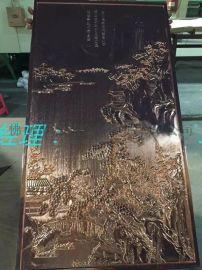 ktv背景墙铝板装饰浮雕 双面立体雕刻壁画订做