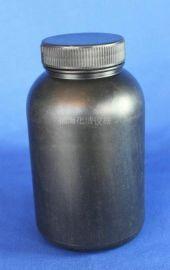 黑色塑料瓶500ml大口塑料瓶 塑料瓶 广口瓶 化工瓶