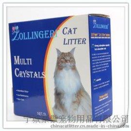 美琳洁瑞水晶盒装不结团猫砂