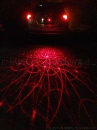 激光尾灯 激光装饰灯 后雾灯 防雾灯 防追尾灯 汽车摩托车货车改装灯 8-36V安全 示灯