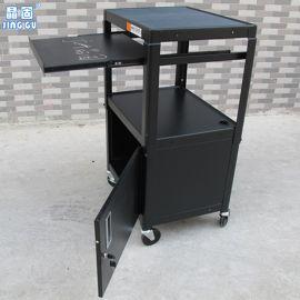 投影机移动推车 拉出板打印机推车