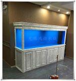 常州鴻顏無錫魚缸設計實木魚缸原裝現貨