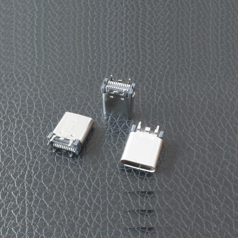 厂家直销 type-c直立式 SMT长体9.3母座 usb 3.1 type-c母座批发