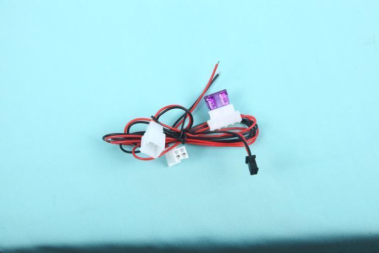热销2 A带保险GPS线束  SM公母线对插电子线
