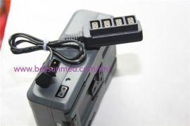 D-TAP B型公插头转四连母头 1分4口 转换头线 摄像机电池分配器