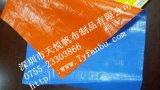篷布厂供应PE防水防晒篷盖布\塑料彩条布