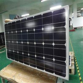 全新A類單晶矽太陽能電池板200w瓦太陽能板太陽能發電板並網家用