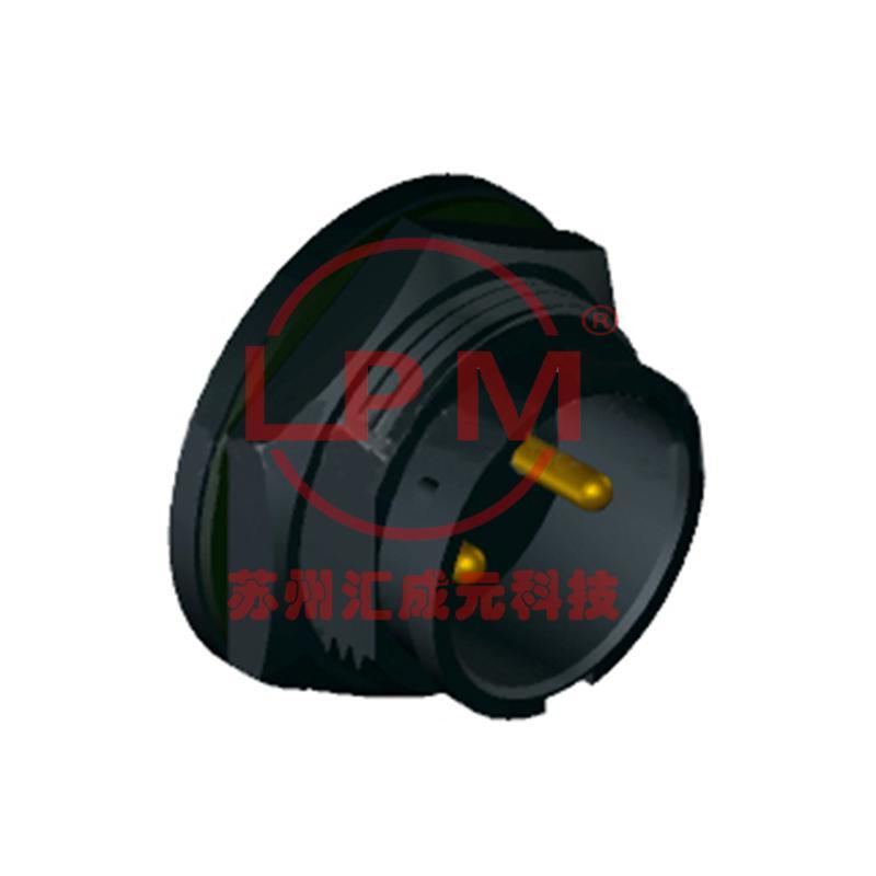 苏州汇成元供应 Amphenol(安费诺) DC-02PMMS-LC7001 替代品防水线束