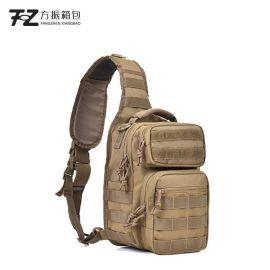 厂家定制防水背包战术包单肩斜跨户外胸包男登山骑行运动腰包