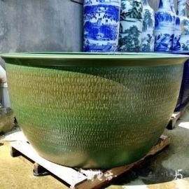 青花瓷大缸 擺設大缸裝飾缸 鎮宅闢邪陶瓷大缸 廠家直銷