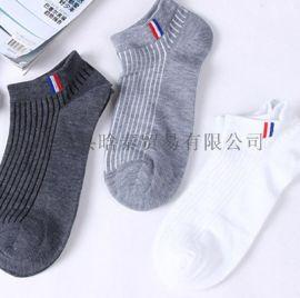精梳棉男士全棉船袜 短筒中厚棉袜秋冬款运动袜独立包装
