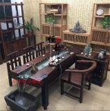 老船木功夫茶台茶桌茶几阳台室内小茶艺桌椅组合特价