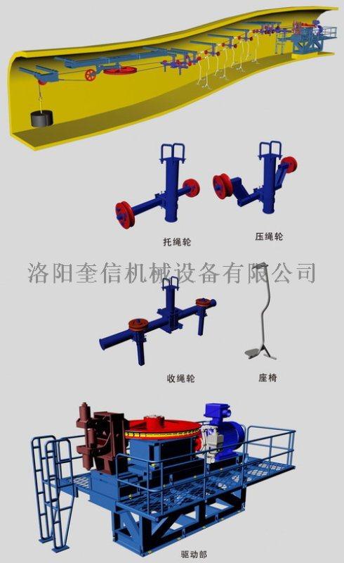 尾轮组件1.2米 铸钢45# 猴车配件