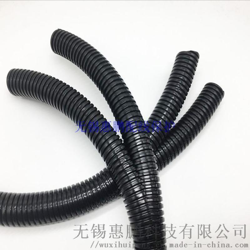 閉合緊閉尼龍雙層可開波紋管可開式雙拼管電廠維修專用