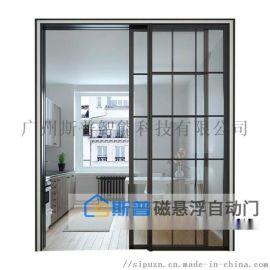 广州斯普自动门磁悬浮电机厂家,家用自动门悬浮门