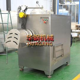 250大型全自动不锈钢冻肉绞肉机