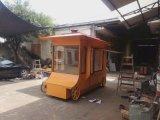 户外移动售货车户外钢木售货车价格户外售货车亭图片