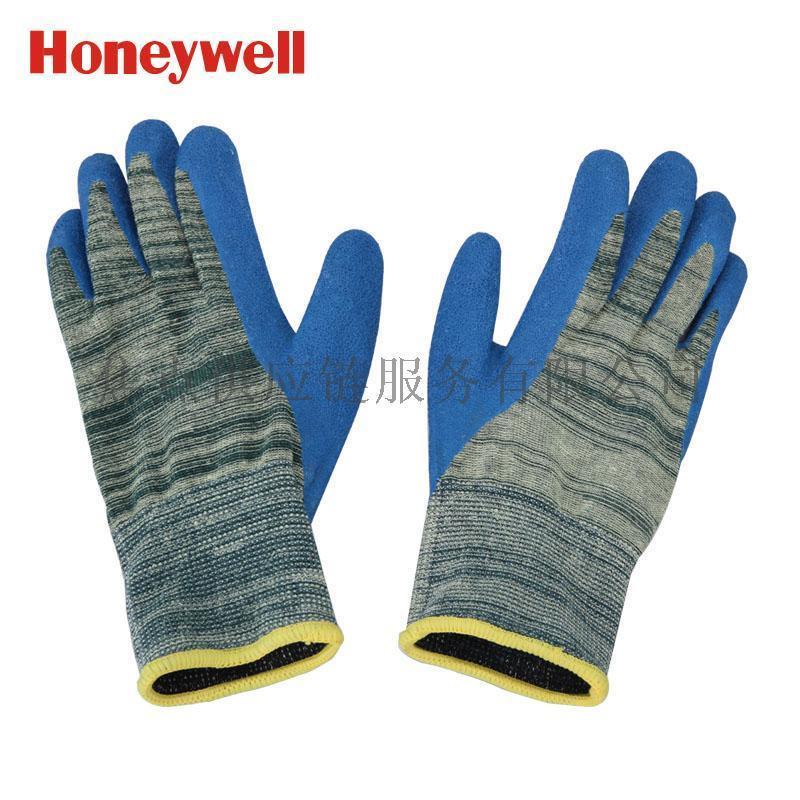 霍尼韦尔防割手套5级 乳胶版 高性能复合材质 2232525CN 9寸