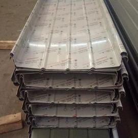 YX65-400型铝镁锰压型板 直立锁边