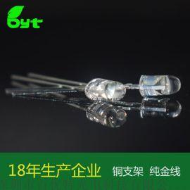 546椭圆940红外发射管 0.4w台湾鼎元芯片直插式LED灯珠
