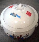 酒釀陶瓷罐批發價格定製陶瓷粥罐子飯鼓將軍罐訂做加工