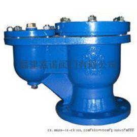 出口品质排气阀 球墨铸铁双口自动排气阀