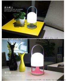 LED野營燈應急馬燈臥室裝飾充電小夜燈