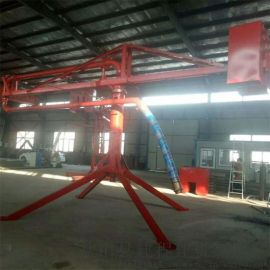 15米手动混凝土新型圆筒式布料机