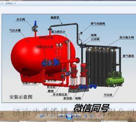北京应急型气体顶压消防给水设备