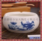 煙碟 酒店食具鎂質白瓷  陶瓷菸缸 菸灰缸圓形煙盅
