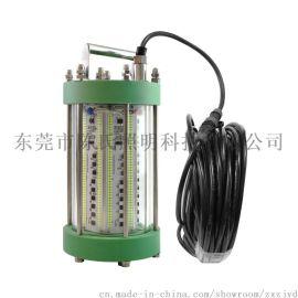 1500W水底捕鱼灯 绿色水下诱鱼灯 220V集鱼灯   耐水压30米深
