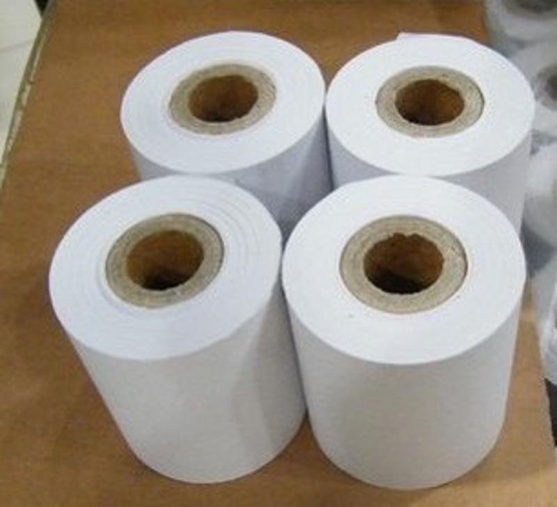 批发44×40mm微型打印纸 色带普通打印纸 适用耀华XK3190的打印纸