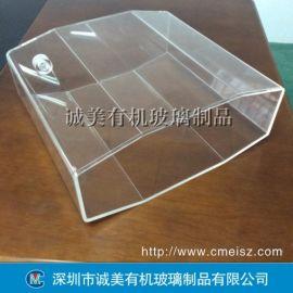 有机玻璃异形盒子 定制亚克力箱子 高难度压克力箱体