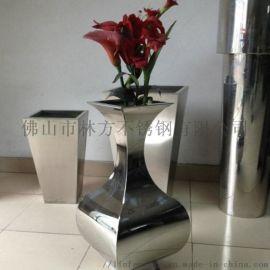 2-5mm不锈钢花盆 花箱加工 商场组合花箱摆件