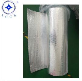 双层铝箔隔热保温气泡膜 太阳遮挡防晒铝膜防火定制