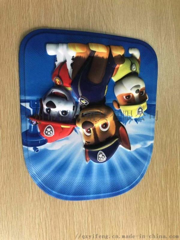 潮州儿童卡通拉杆箱花片厂家 揭阳EVA书包前片价格