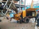 40细石混凝土泵施工前要做哪些检查工作