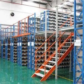 潍坊阁楼式货架生产公司-山东阁楼式货架专业供应