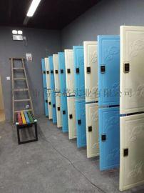 易安格ABS塑料 衣柜全塑置物柜结构详情介绍