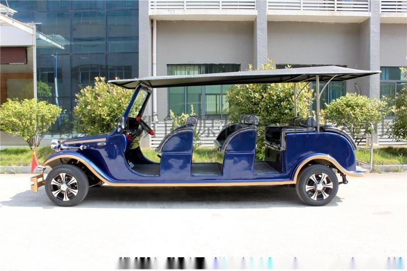 玻璃钢外壳新能源电动车宾利款豪华老爷车观光车