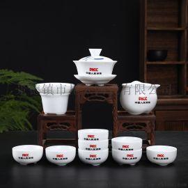 手繪茶具套裝、禮品茶具定制