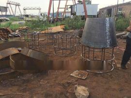 钢制吸水喇叭口|20#吸水喇叭口盐山鑫涌打造