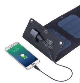 10w太阳能充电器户外便携式折叠手机移动电源野外探险防水充电板