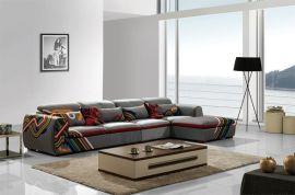 欧也家具S15021时尚简约现代转角布艺沙发