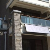阳台壁挂式平板太阳能热水器,高层住宅小高层专用太阳能热水器, 热水器
