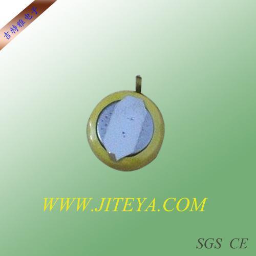 CR927加工焊脚电池