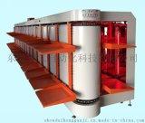 双层多工位自动旋转式烘干机