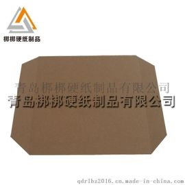鱼台县纸滑托盘厂家定做牛皮运输包装滑托板 环保纸栈板 济宁直销