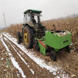 拖拉机带动秸秆粉碎打捆机厂家